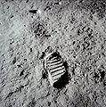 Apollo_11_1e_voetafdruk