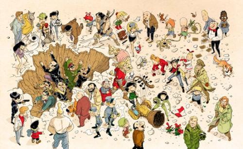 strips, stripverhaal, belgië gestript, geert de weyer, geschiedenids, cultuurgeschiedenis, stripgeschiedenis, overzicht, naslagwerk